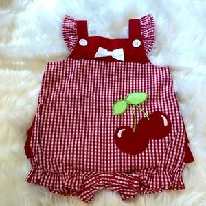 NWOT Little Cherry Outfit